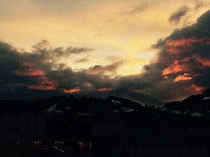 Sunset Sky Nature Cloud - Sky