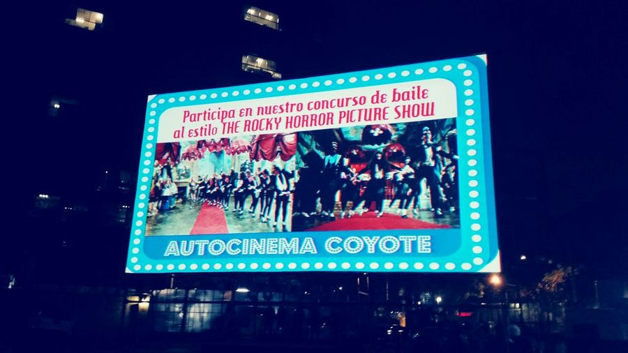 The Rocky Horror Picture Show Driveincinema Mexico City