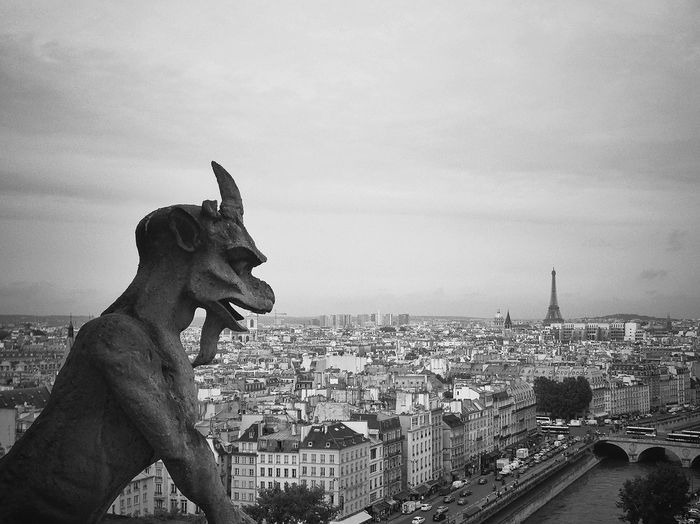 Statue Of Gargoyle