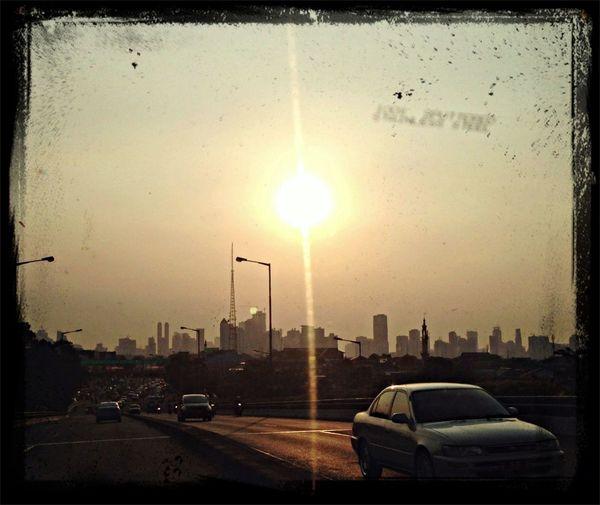 Our Sunr sun sunday evening Jakarta Skyloft