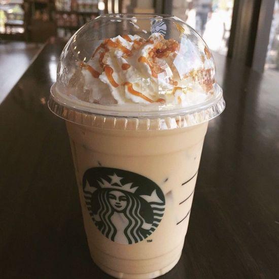 My recent Favorite Yay! ?? Chestnut Latte Starbucks Happy Kiddo :)  Happy People Drinking Drinking A Latte Delicious Portrait