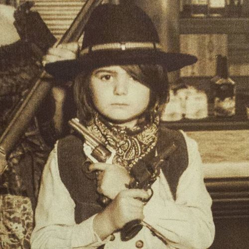 Dennik is very serious about being an outlaw. OutLaw Lovethiskid Billythekid Oldwildwest Illbeyourhuckleberry