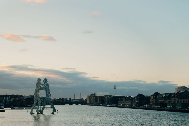Lake View Vscocam Berliner Ansichten Industrial Photography Berlin Spree River Sunset