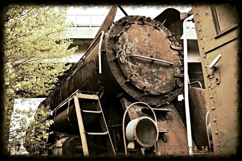 Old Train Wolsztyn Poland
