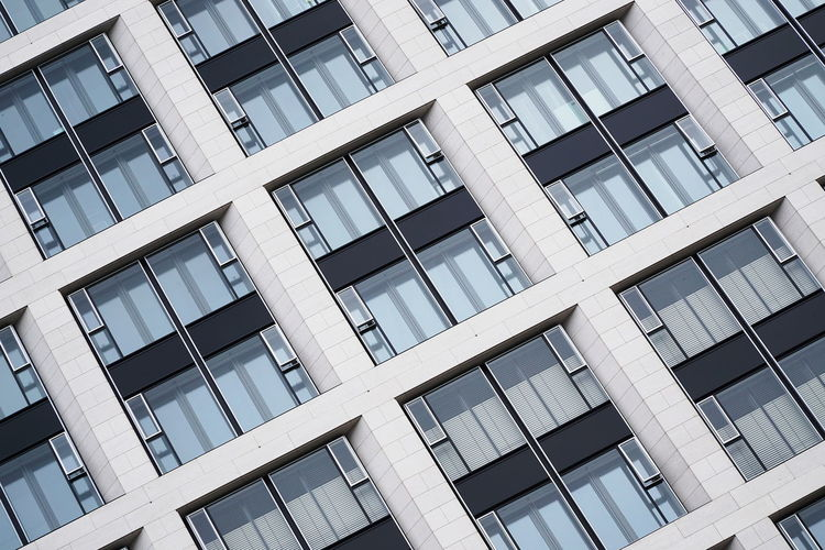 Façade Abstract Apartment Architecture Building Exterior Built Structure In A Row Pattern Window Windows