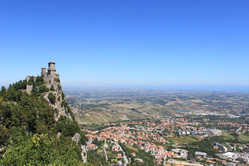 The future belongs to those who believe in their dreams. Cal Arhitechture Castello Calm Calmante Houses On Mountain Sea View San Marino A Bird's Eye View