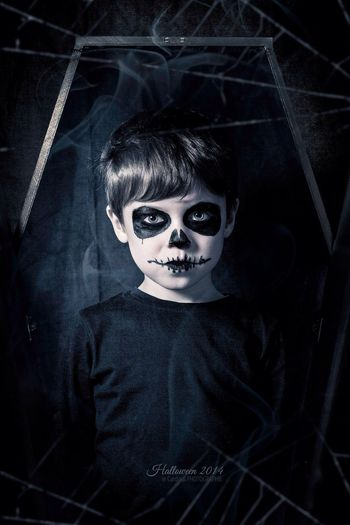 Happy Halloween ;) Halloween Kids Skeleton Davidlecardinal