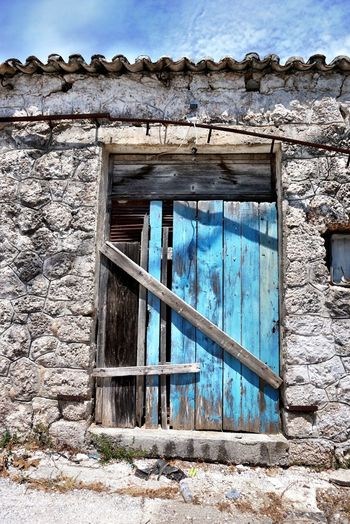 Fine Art Photography Door Doors Lover Textures And Surfaces Holiday House Architecture or not😂 Summer Views The Architect - 2016 EyeEm Awards The Essence Of Summer Doors Texture The Tourist Greece Lefkas Summer Summertime Summer2015 Building Abandoned Buildings Abandoned House Doorporn Doorway Greek Color Palette Art Is Everywhere The Architect - 2017 EyeEm Awards