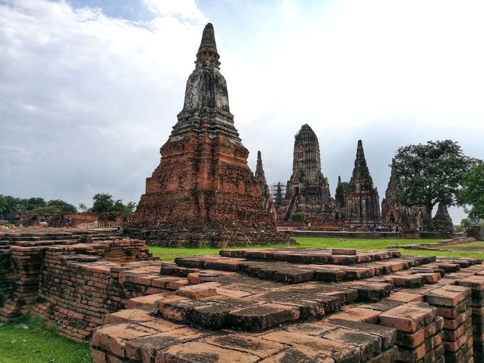 Historic City of Ayutthaya Place Of Worship Business Finance And Industry Religion Cultures Ancient Civilization Spirituality Architecture