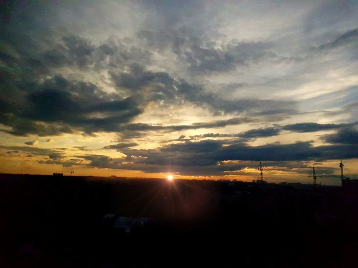 Sunset Cloud - Sky Dramatic Sky Sunbeam Nature Cloudscape Tranquility Scenics Sky Sunlight Outdoors Beauty In Nature No People Tranquil Scene Day Astronomy Mysoulreflection Mythoughts Mylife Mypain Mytlp моимысли мояжизнь мояболь моимжб