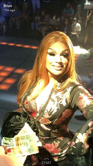 Valentina from Ru Paul's drag race. Dragqueen  Rupaulsdragrace Lubbock Tx