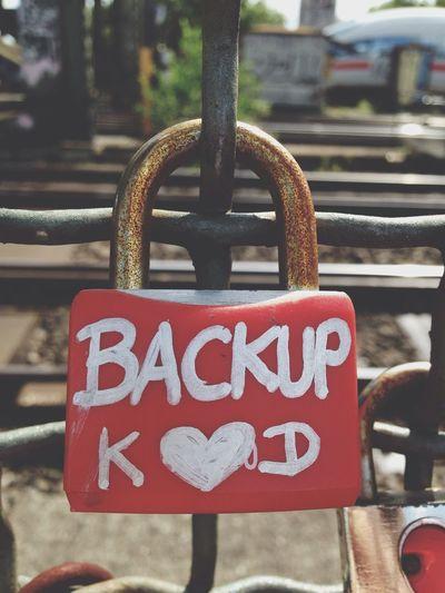 Love Lock as Backup True Romance in Köln