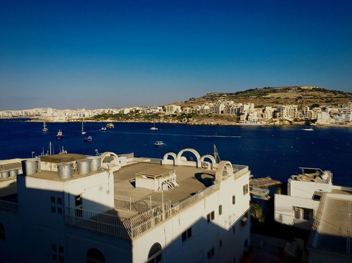 Xemxija Malta St Paul's Bay Mediterranean  Bay Sea