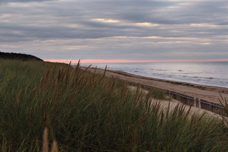 Mablethorpe Beach at Sunset , pretty Sky tonight