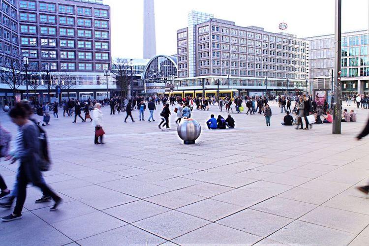 Walking Architecture Thisisgermany Thisisberlin Alexanderplatz Germany Berlin Spring