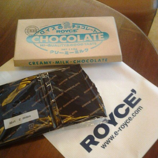 Appetizer :) Royce Chocolate Eastwood