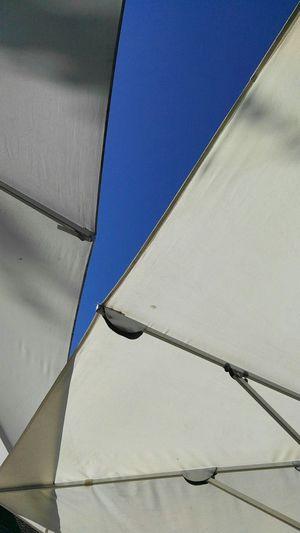 Blue Sky Canvas Sunshade Pattern Still Life Art Is Everywhere
