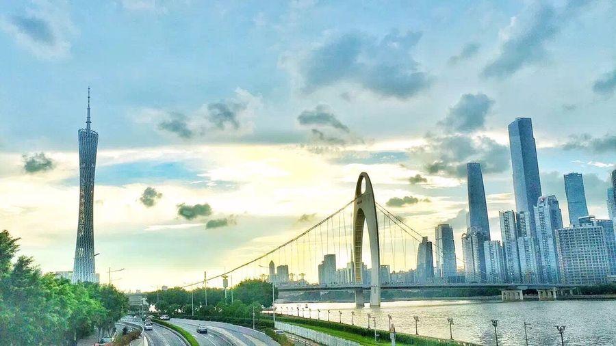 广州 Guangzhou 猎德大桥