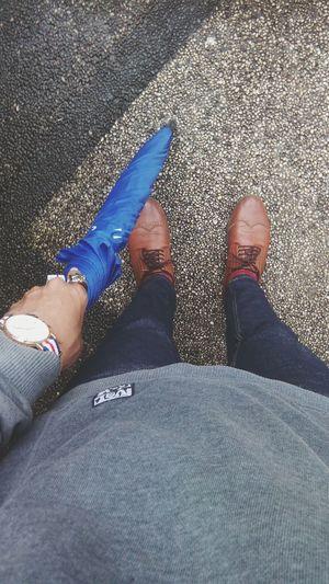 Some people feel the rain. Others just get wet🌂 Umbrela Danielwellington Anchorbracelet Skullring Kingsman