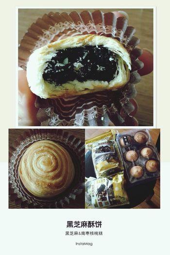 Hongkongfood Black Sesame Cake Delicious ♡