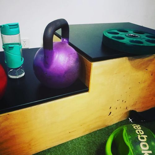 Gym Multi Colored Gym Time No People Close-up Kettlebell  Day