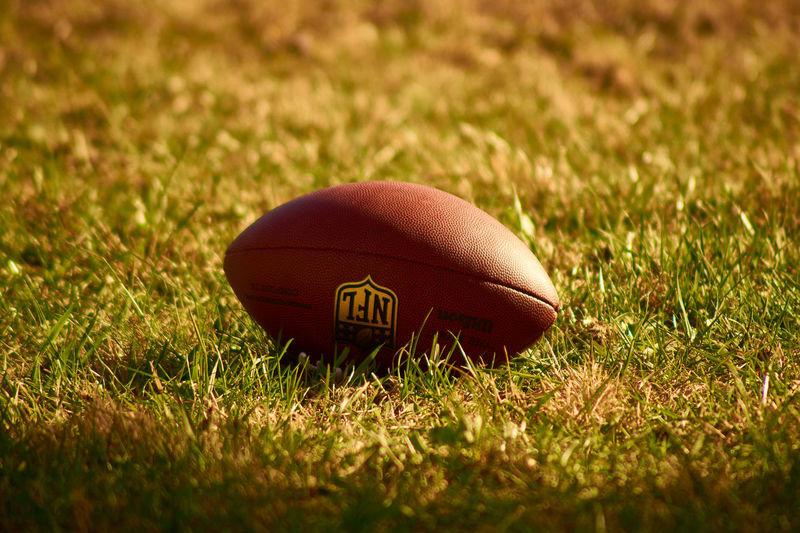 Grass Close-up Outdoors NFL NFL Football Football Sports Sports Photography Summer Ball Sony A58 Bokeh Photography