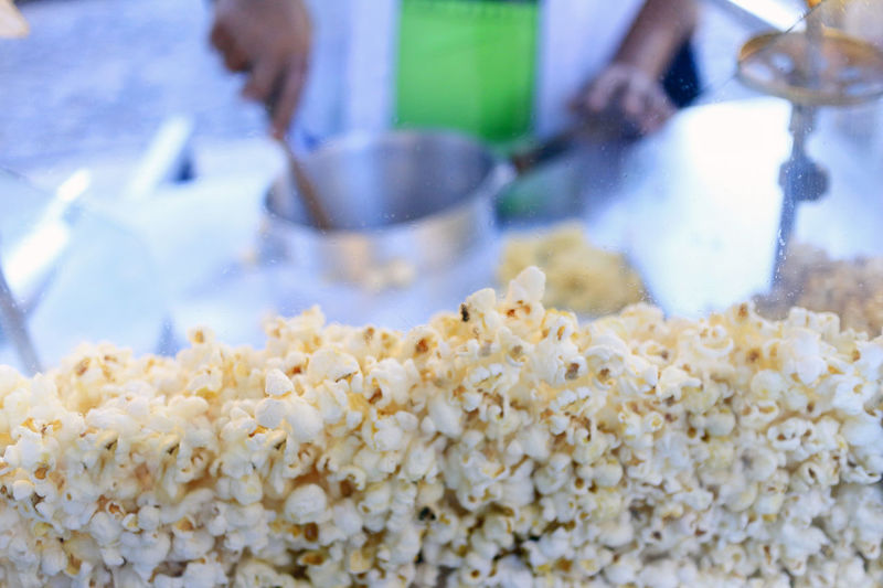 Close-up Day Food Food And Drink Freshness Human Hand Indoors  One Person People Pipoca Popcorn Real People