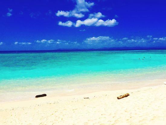 Okinawa Yaeyama Haterumajima Sea Sky Relaxing Emerald Iphone6