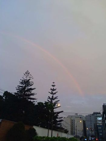 Rainbow Rainbow Sky Rainbows City Cityscapes City Life Cityscape Skyporn Sky Skyline