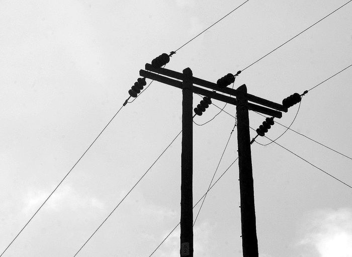 Connection Cable Electricity  Technology Business Finance And Industry Day Outdoors No People Electricity Pylon Telephone Line Sky