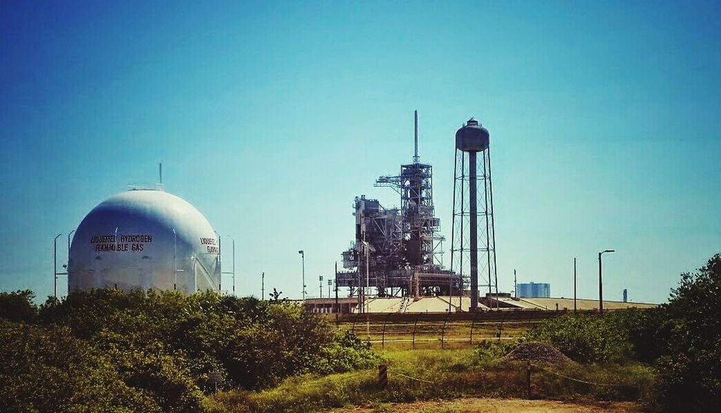 Historical Launch Pad 39A. Space History Launchpad NASA Kennedy Space Center  Apollo Space Shuttle Rocket