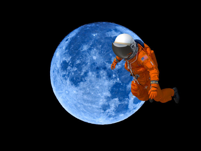 Astronomy Black Background Copy Space Full Length Globe - Man Made Object Headwear Helmet Moon Nature Night Outdoors People Planet - Space Planet Earth Protection Security Sky Space Space Exploration