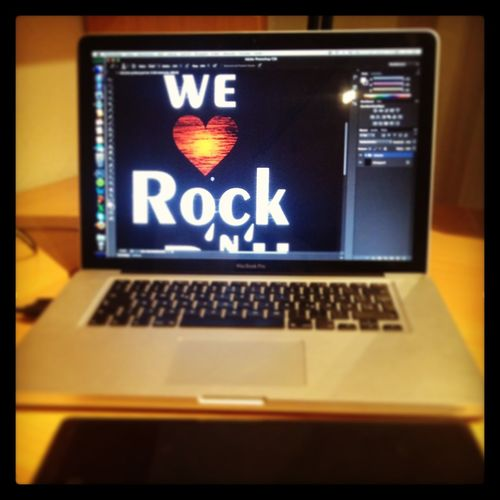 arbeiten Adobe Photoshop MacBook Music Bamboo