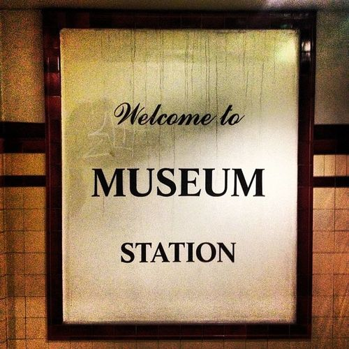 This was always going to be my stop?Destiny Museum Train Platform Mondays Sydney trainstation goinghome
