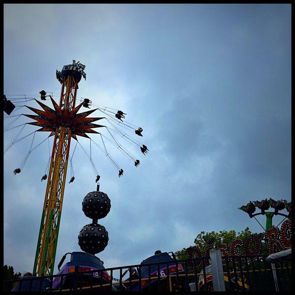 Amusementpark Fun Theme Park GreyDay