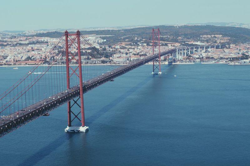 April 25th bridge over tagus river