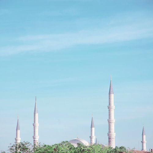 Minimalism Mosque Minimalist Architecture #building No People Sky Outdoors Business Finance And Industry Landscape Day Scenics Nature Tree