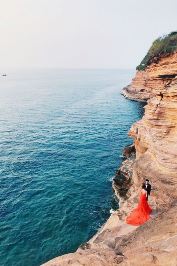 Sea Water Beauty In Nature Horizon Over Water Scenics - Nature Real People Sky