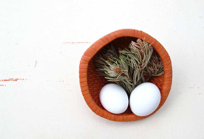 Animal Egg Basket Circle Close-up Decoration Eggs Food Photography Geometric Shape Nature No People Orange Color Organic Still Life Still Life Photography Two Is Better Than One