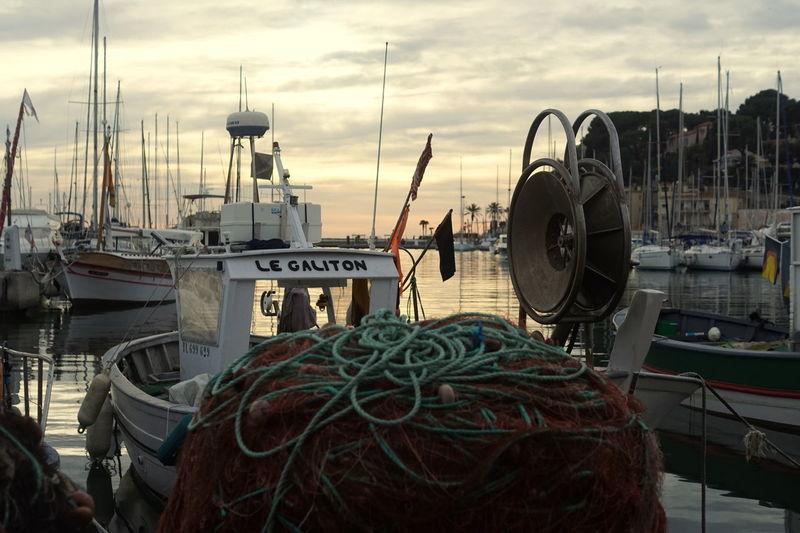 Fishing Boat Sanary Sur Mer