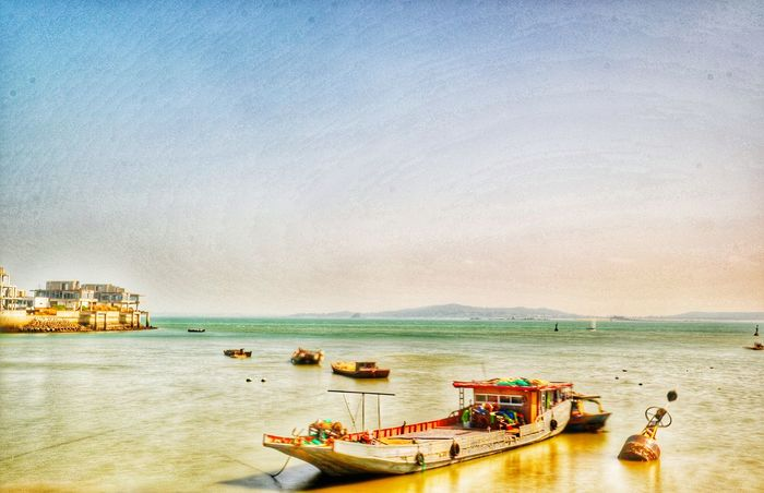 Sea Landscape Long Exposure Xiamen,China Ship Island Capture Freedom Now At This Time in xiamen HDR Hdr_Collection