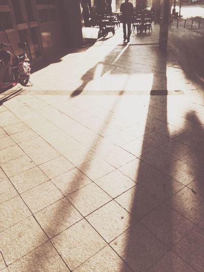 Sunlight on the Street ☀️
