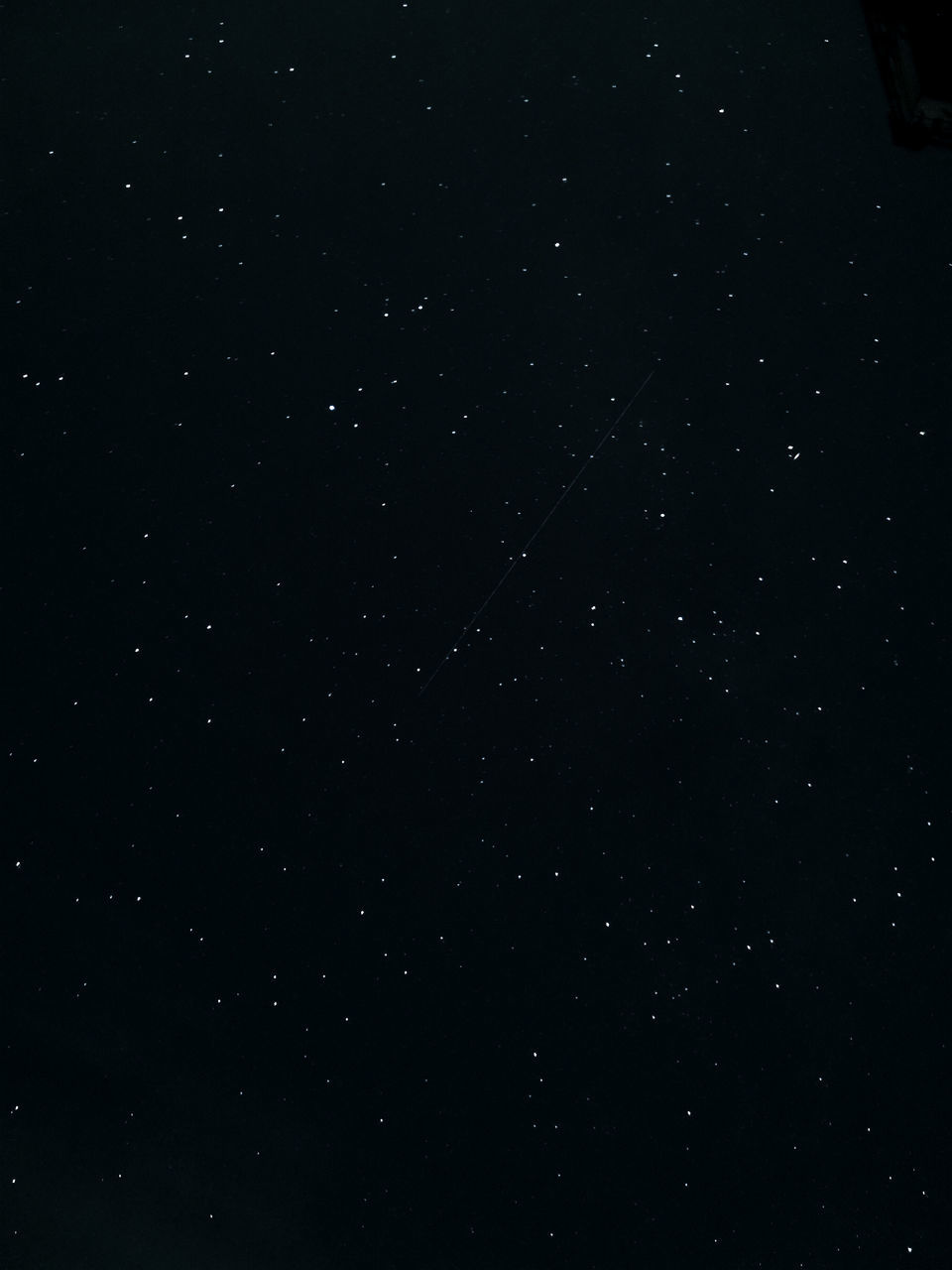 LOW ANGLE VIEW OF STAR FIELD IN SKY