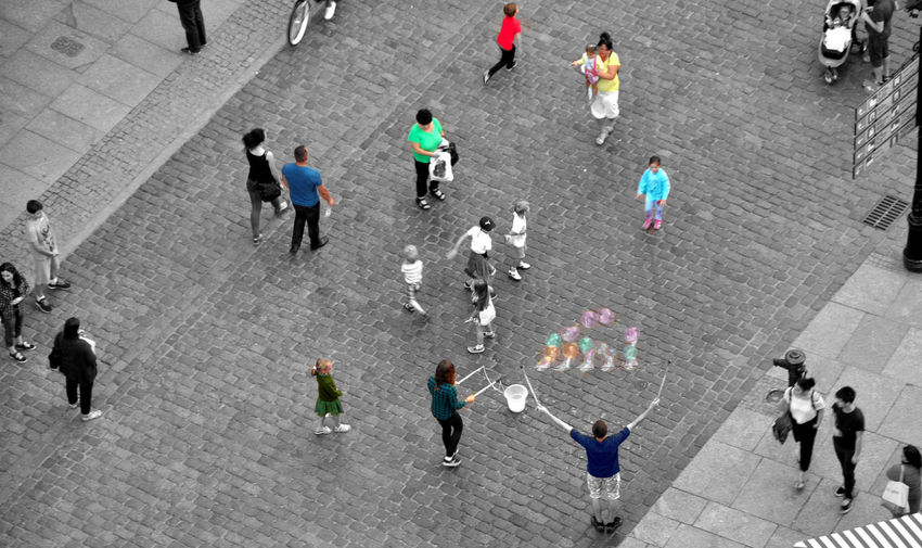 Composition Perspectives on People adventures in the city cityscapes crowd group of people high angle view lar Composition Perspectives On People Adventures In The City Crowd Group Of People High Angle View Large Group Of People Outdoors People Photography Real People Street Street Scene