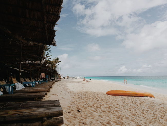There's no place like Boracay Island, Philippines Vacations Thepharchipelago Aklan Pukabeach HuaweiP9 Huaweiphotography Beach Beach Life Blue Wave Blue Sky Beach Sea Sand Sky Vacations Cloud - Sky Water EyeEm Ready