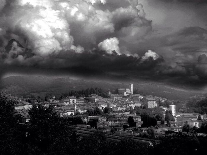 Feltre low quality Landscape Hello World Blackandwhite