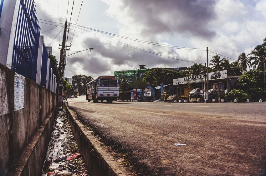 Urbanphotography Streetphotography Streetphoto_color Street Photography Roadside On The Road Clouds And Sky Sky Traveling SriLanka