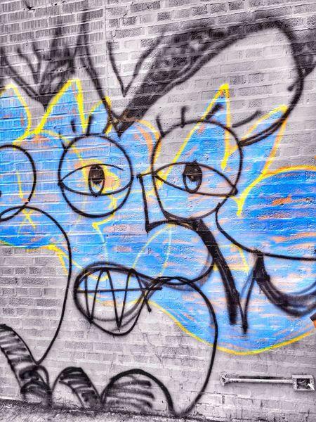 Monday Blues Streetart Smile