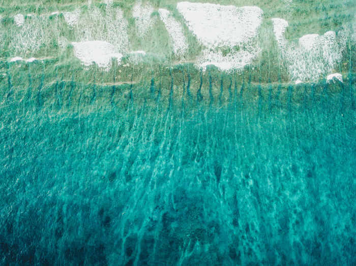 Backgrounds Beauty In Nature Blue Close-up Day Full Frame Motion Nature No People Outdoors Power In Nature Purity Scenics - Nature Sea Seascape Sport Swimming Pool Turquoise Colored Underwater View From Above Water Waterfront Wave Waves Waves, Ocean, Nature