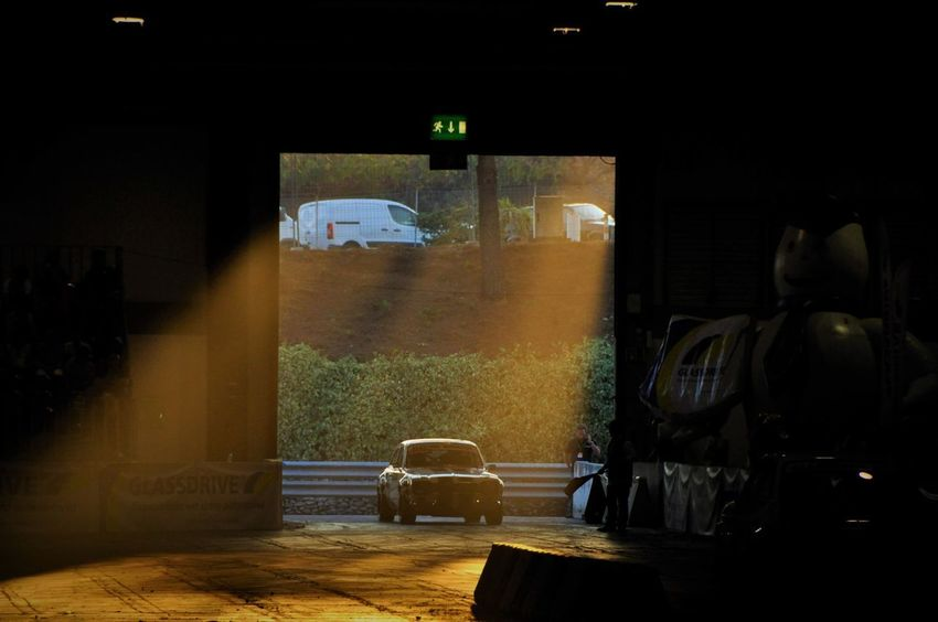 Cars Motorsport Oporto Oporto, Portugal Racing Architecture Built Structure Car Carcollection Exponor Illuminated Indoors  Indoors  Light And Shadow Lighting Motorshow Motorsportphotography Motorsports Night No People Racing Car Reflection Sports Photography Triumph Window